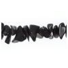 Semi-Precious Chips 6X8mm Black Obsidian
